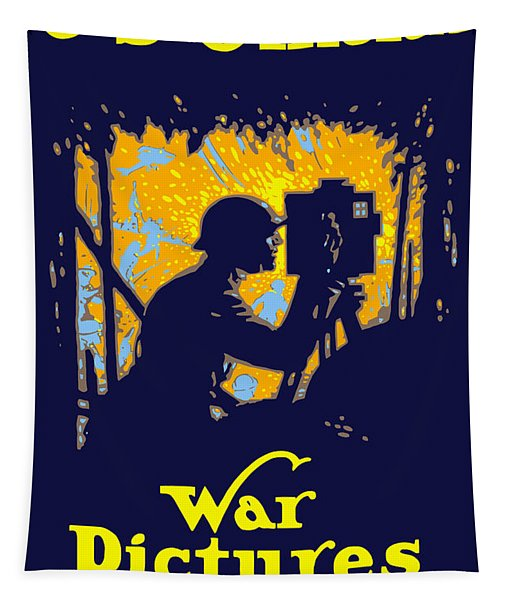 U.s. Official War Pictures Tapestry