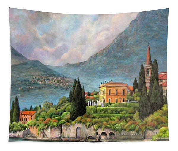 Varenna Italy Tapestry
