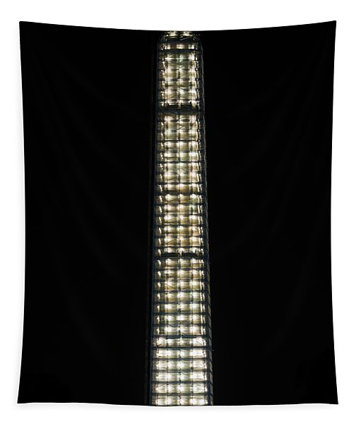Washington Monument In Repair Tapestry