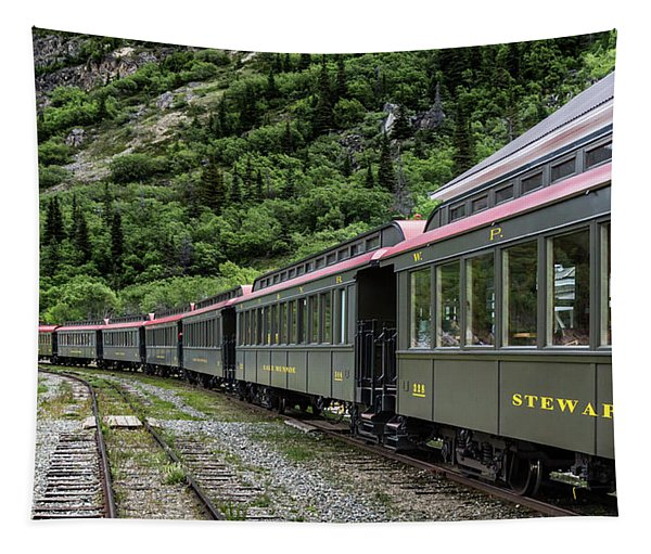 White Pass And Yukon Railway Tapestry