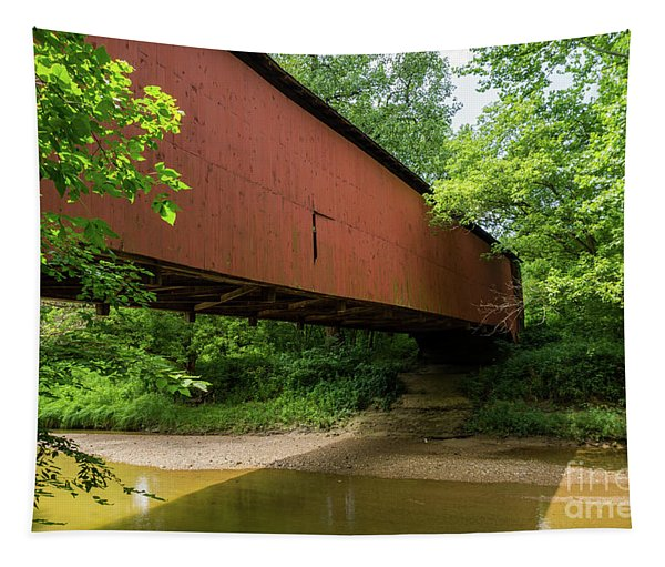 Wilkens Mill Covered Bridge Tapestry