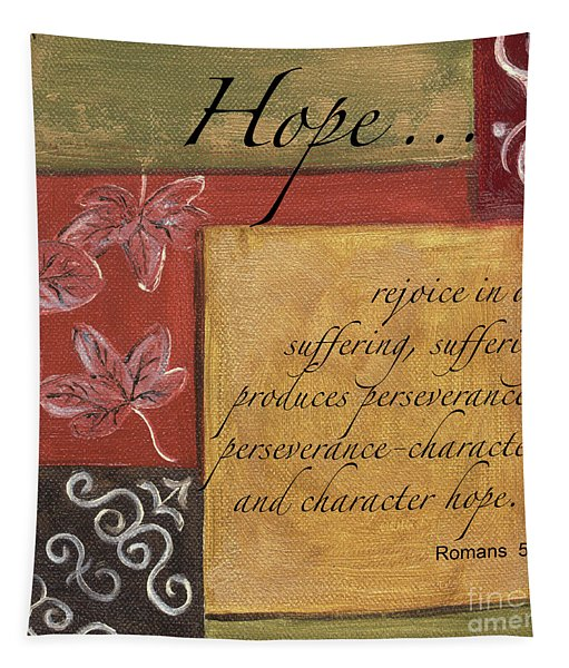 Words To Live By Hope Tapestry