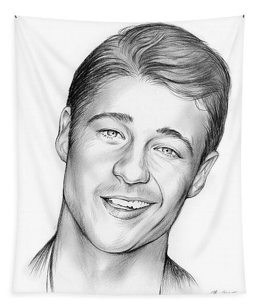 Young Ben Mckenzie Tapestry