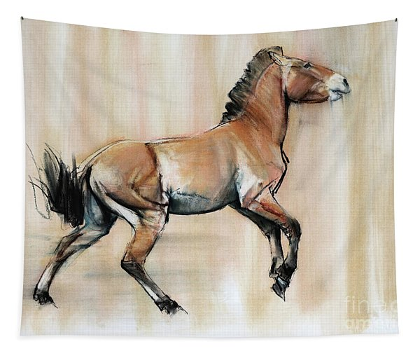 Young Stallion Tapestry
