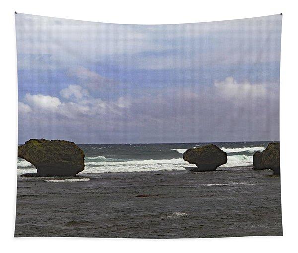 Bathsheba Beach Tapestry
