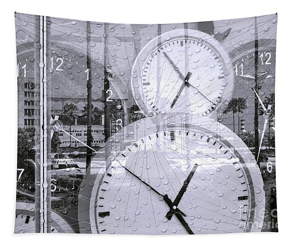 Conceptual Image Of Time Tapestry