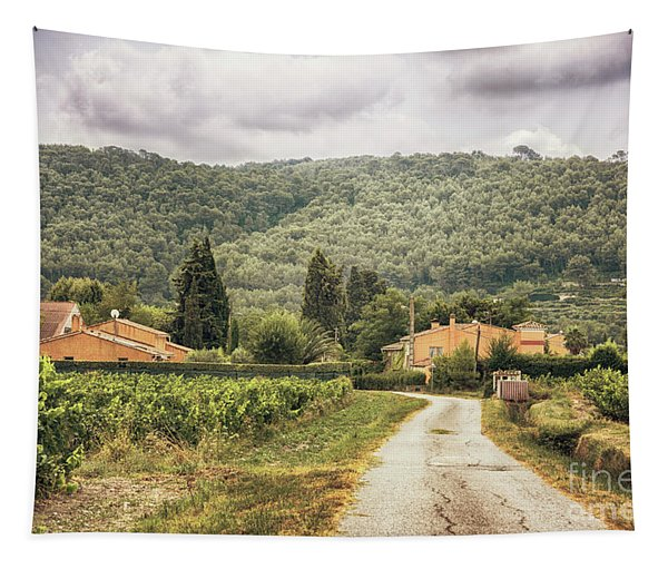Countryside Near La Castelet Tapestry