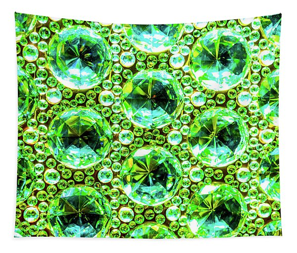 Cut Glass Beads 2 Tapestry