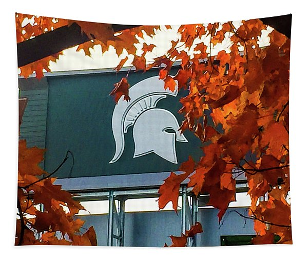 Fall Is Football Tapestry