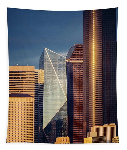 Modern Architecture In City, Seattle Tapestry