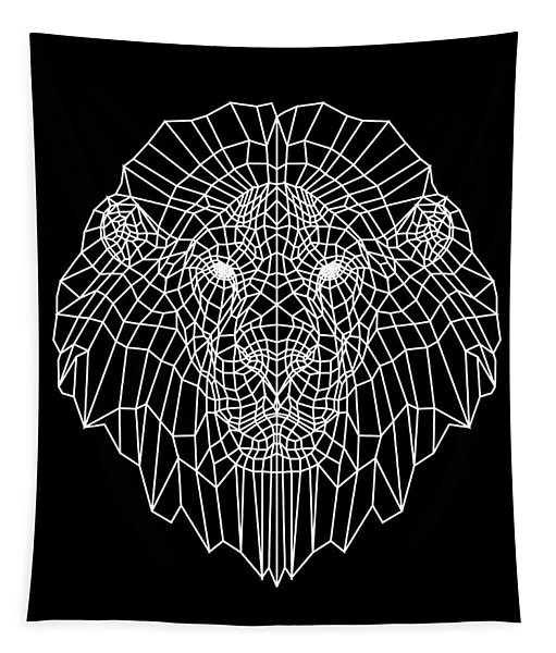 Night Lion Tapestry