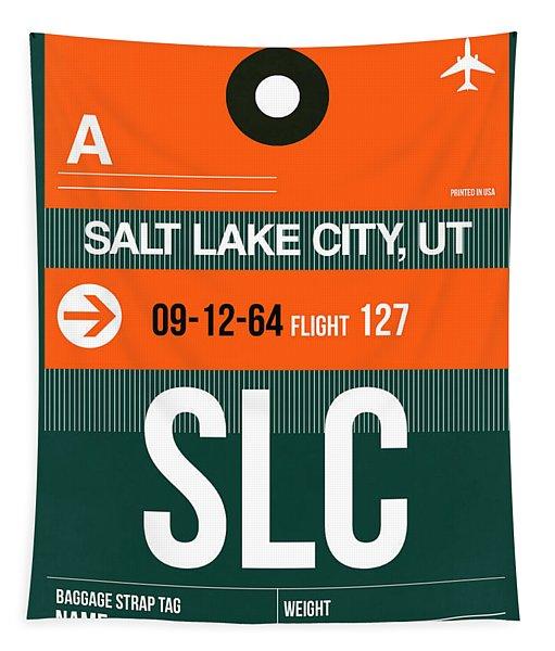 Slc Salt Lake City Luggage Tag II Tapestry