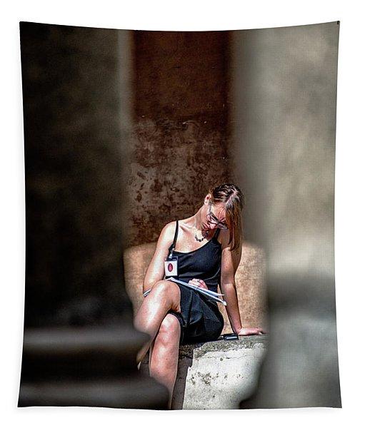 Tempietto Da Bramante Tapestry