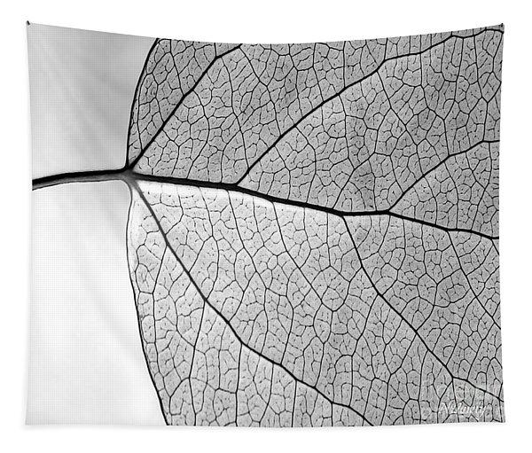 Aspen Leaf Veins Tapestry