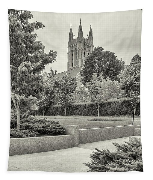 Boston College In Chestnut Hill Tapestry