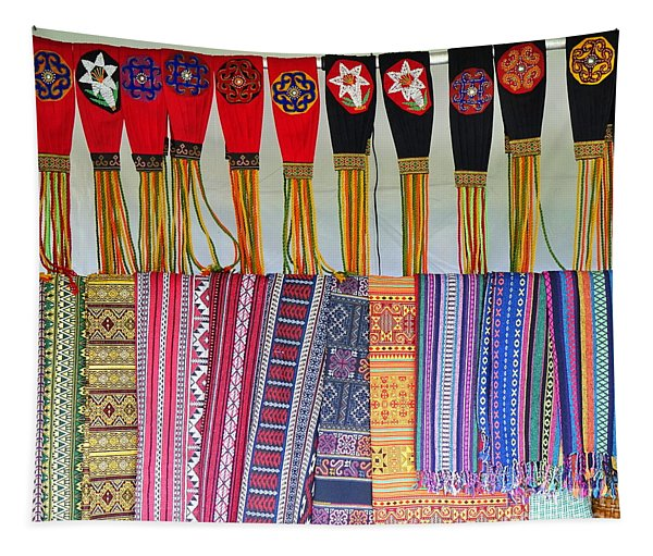 Indigenous Arts And Crafts Tapestry