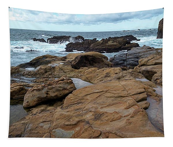 Rock Formations On The Coast, Point Tapestry