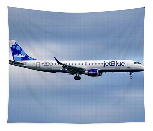 Jetblue Airways Embraer Erj-190ar Tapestry