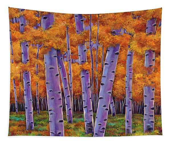 A Chance Encounter Tapestry
