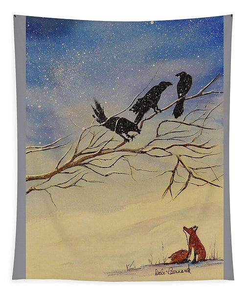 A Fox And His Cronies Tapestry