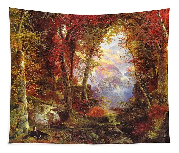 Under The Trees Tapestry