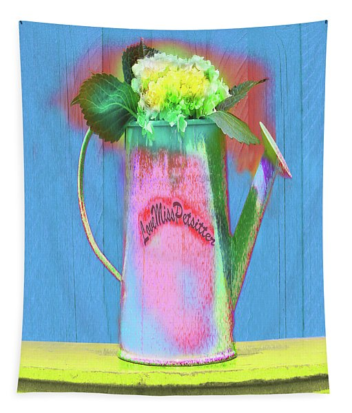 Abstract Floral Art 377 Tapestry