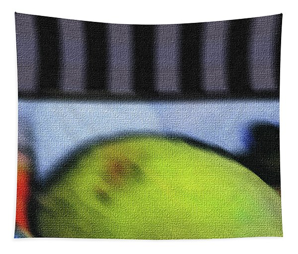 Abstract Fruit Art    138 Tapestry