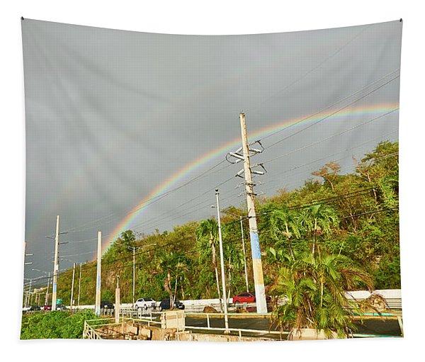 Aguadilla Rainbow Tapestry