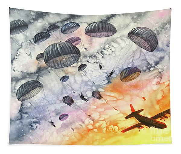Airborne Dawn Tapestry