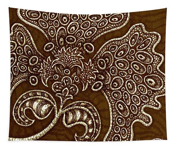Alien Bloom 6 Tapestry