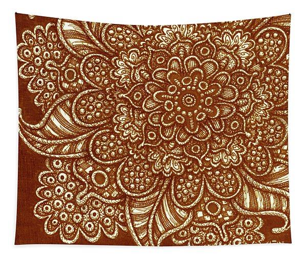 Alien Bloom 7 Tapestry