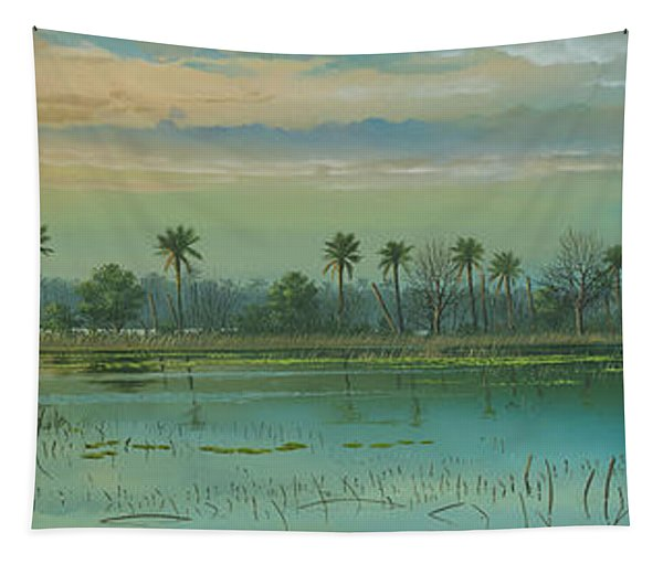 Alligator Alley Tapestry