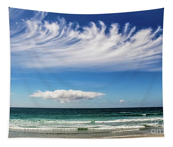 Aotearoa - The Long White Cloud, New Zealand Tapestry