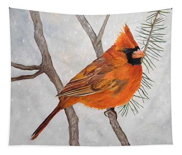 Fire On Ice Tapestry