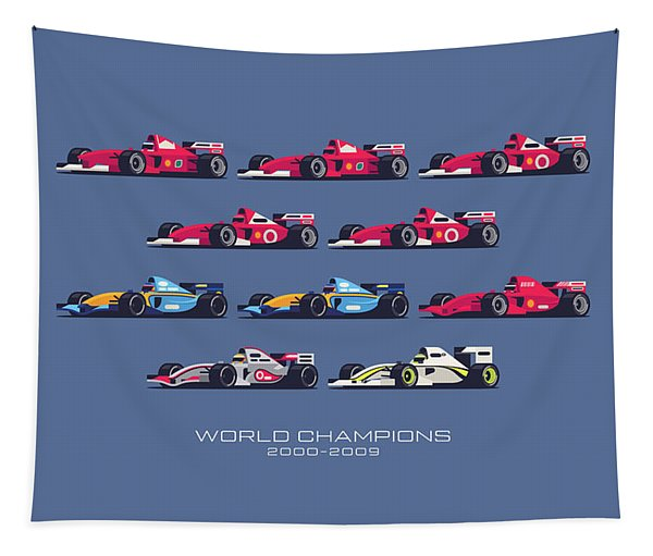 F1 World Champions 2000s - Midnight Tapestry