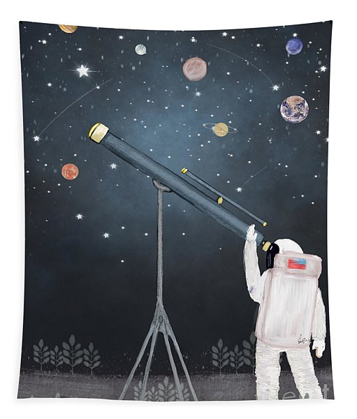 Astronaut Astrology  Tapestry