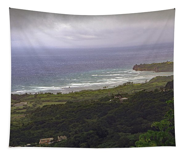 Barbados View Tapestry