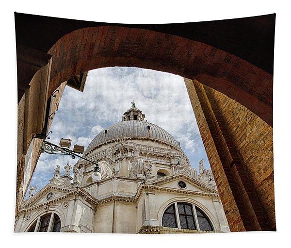 Basilica Di Santa Maria Della Salute Venice Italy Tapestry