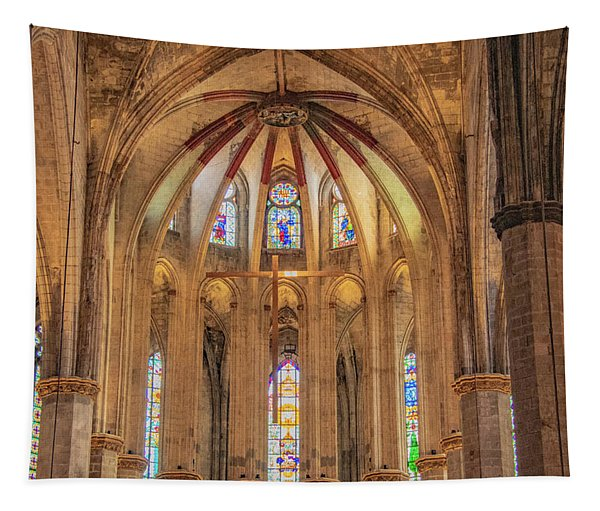 Basilica Of Saint Mary Of The Sea, Barcelona Tapestry