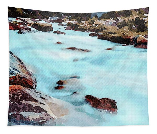 Big Two-hearted River Tapestry