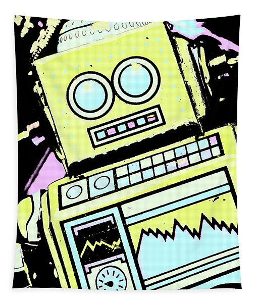 Bionic Comic Bot  Tapestry