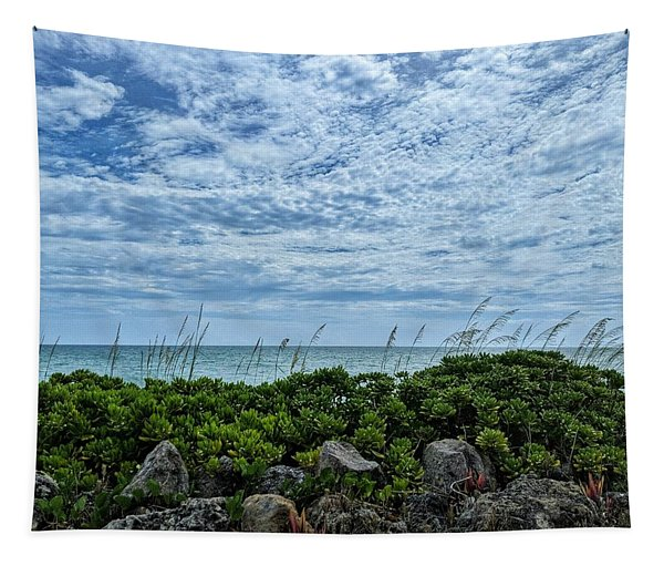 Blue Sky Lullaby Tapestry