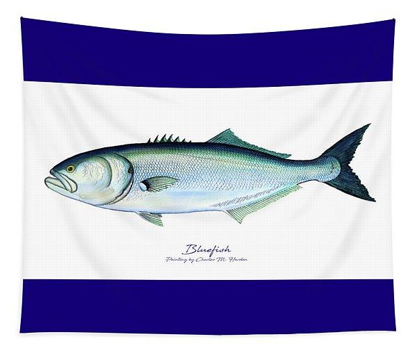 Bluefish Tapestry