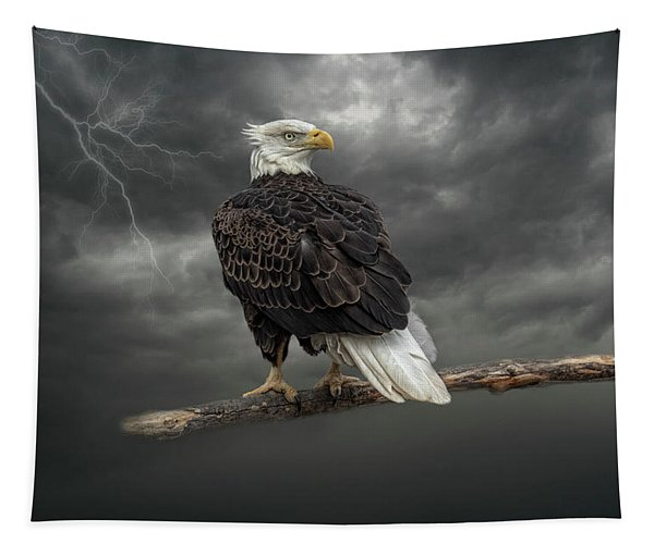 Braving The Storm Tapestry