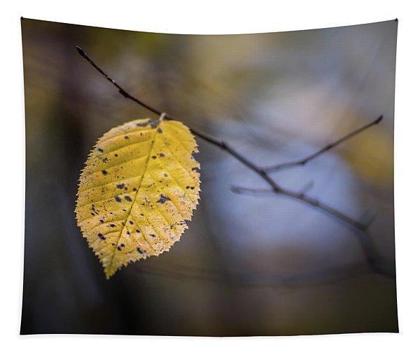 Bright Fall Leaf 3 Tapestry