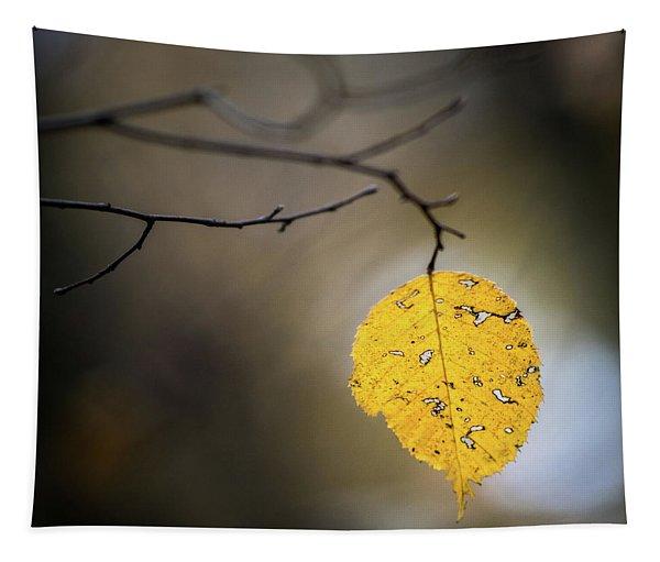 Bright Fall Leaf 7 Tapestry