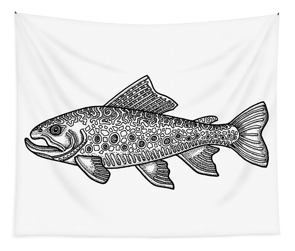 Brook Trout Tapestry