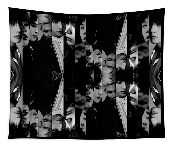 Bts - Bangtang Boys Tapestry