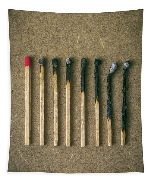 Burnt Matches Tapestry