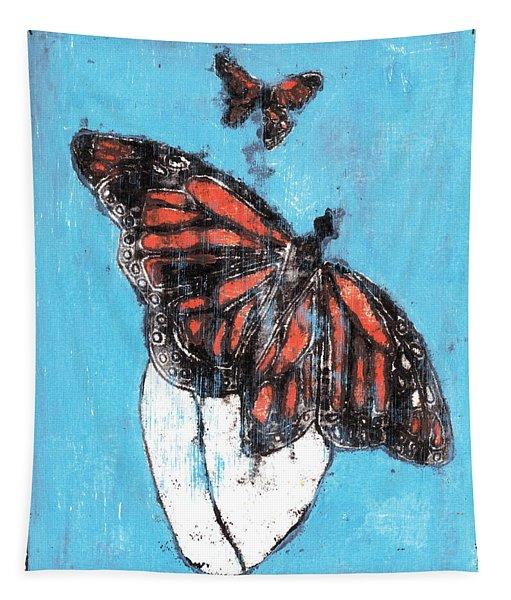 Butterfly Garden Summer 1 Tapestry